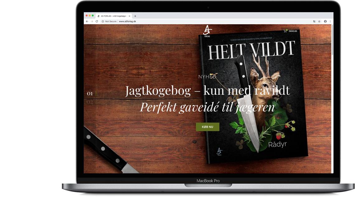 Webshop og flot præsentation af billeder